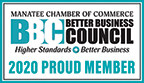 2020 Better Business Council Proud Member